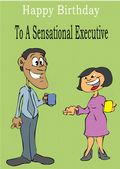 Executive - Greeting Card